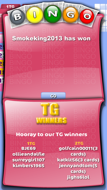 winning message 90 ball